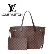 Louis Vuitton NEVERFULL Casual Style Unisex Street Style Totes
