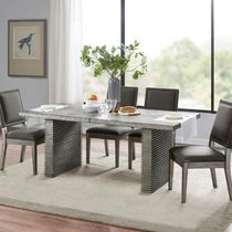 MADISON PARK Wooden Furniture Dining Tables Table & Chair