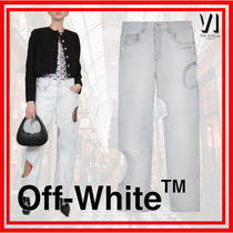 Off-White Denim Wide & Flared Jeans