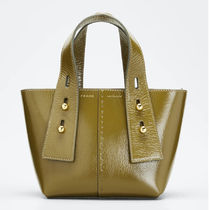 FRAME DENIM Casual Style Plain Office Style Totes