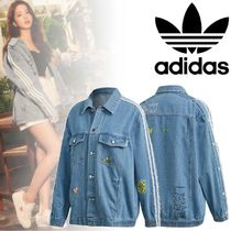 adidas Stripes Casual Style Denim Street Style Collaboration