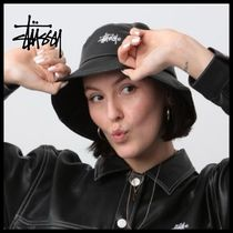 STUSSY Street Style Collaboration Wide-brimmed Hats