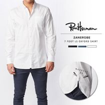 Ron Herman Button-down Long Sleeves Plain Cotton Surf Style Shirts