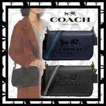 Coach Casual Style Denim Bag in Bag 2WAY Plain Leather Crossbody