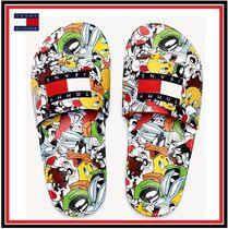 Tommy Hilfiger Street Style Collaboration Shower Shoes Flipflop Logo