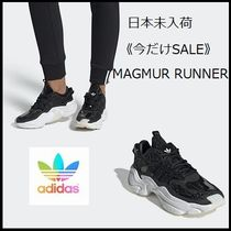 adidas MAGMUR Casual Style Street Style Logo Low-Top Sneakers