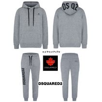 D SQUARED2 Unisex Street Style Matching Sets Two-Piece Sets