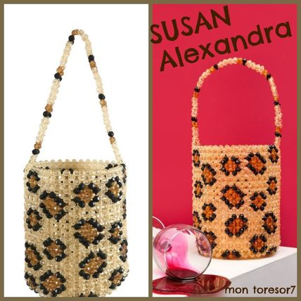 Leopard Patterns Casual Style Handbags