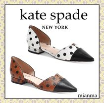 kate spade new york Dots Casual Style Leather Party Style Office Style