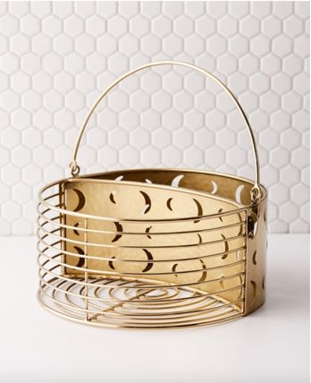 Urban Outfitters Make-up Organizer Gold Furniture Bath & Laundry