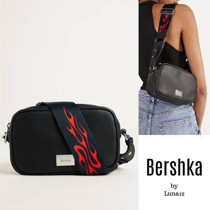 Casual Style Street Style 2WAY Plain Crossbody Shoulder Bags