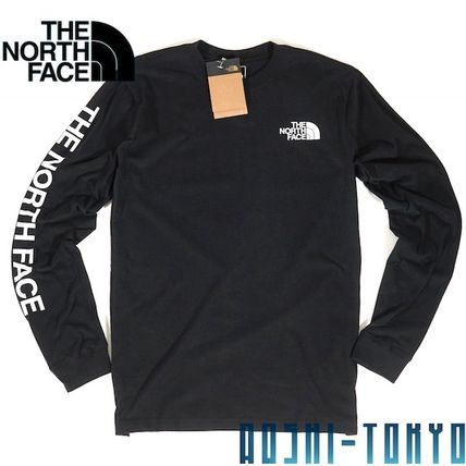 THE NORTH FACE Long Sleeve Unisex Street Style Long Sleeves Long Sleeve T-shirt Outdoor