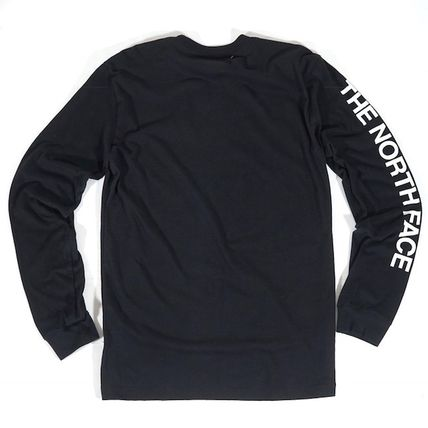 THE NORTH FACE Long Sleeve Unisex Street Style Long Sleeves Long Sleeve T-shirt Outdoor 2
