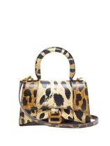 BALENCIAGA Leopard Patterns Casual Style Street Style Crossbody Logo