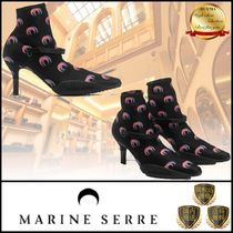 MARINE SERRE Leather Boots Boots