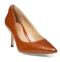 Ralph Lauren Plain Leather Pin Heels Party Style Office Style
