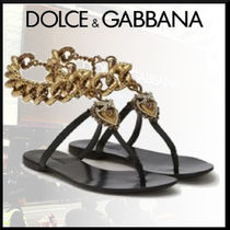 Dolce & Gabbana Casual Style Chain Plain Party Style Formal Style  Logo