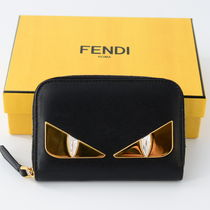 FENDI BAG BUGS Leather Coin Cases