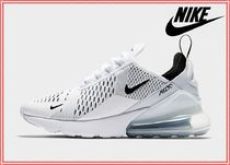Nike AIR MAX 270 Casual Style Blended Fabrics Street Style Leather Logo