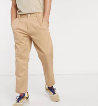 Carhartt Tapered Pants Street Style Plain Cotton Logo Tapered Pants