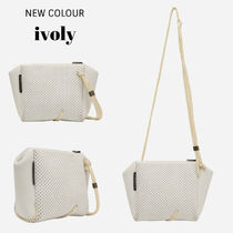 State of Escape Casual Style Unisex Blended Fabrics 2WAY Plain Crossbody