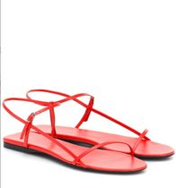 The Row Plain Leather Sandals Sandal