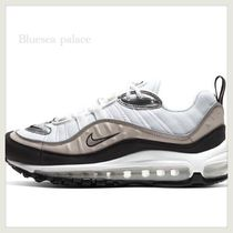 Nike AIR MAX 98 Casual Style Logo Low-Top Sneakers