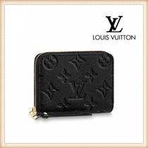 Louis Vuitton Monogram Leather Small Wallet Coin Cases