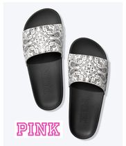 Victoria's secret PINK Paisley Casual Style Street Style Sport Sandals Flat Sandals