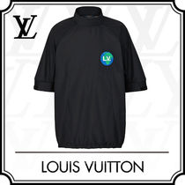 Louis Vuitton Cropped Long Sleeves Short Sleeves Long Sleeve T-shirt Logo