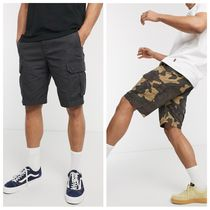 Billabong Camouflage Unisex Street Style Plain Cotton Cargo Shorts