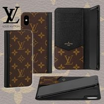 Louis Vuitton MONOGRAM Monogram Unisex Plain iPhone X iPhone XS Logo