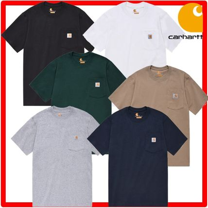 Carhartt More T-Shirts Unisex Street Style Cotton T-Shirts 2