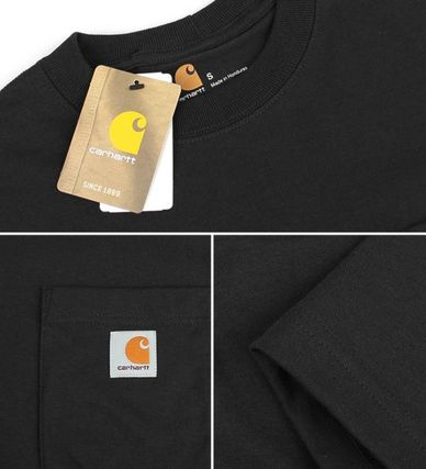 Carhartt More T-Shirts Unisex Street Style Cotton T-Shirts 11