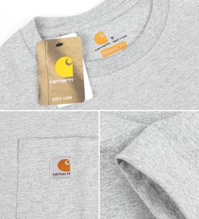 Carhartt More T-Shirts Unisex Street Style Cotton T-Shirts 12