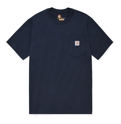 Carhartt More T-Shirts Unisex Street Style Cotton T-Shirts 14