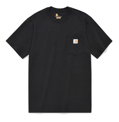 Carhartt More T-Shirts Unisex Street Style Cotton T-Shirts 15