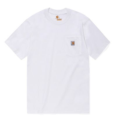 Carhartt More T-Shirts Unisex Street Style Cotton T-Shirts 16