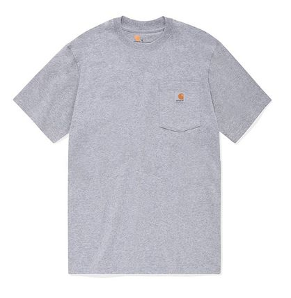 Carhartt More T-Shirts Unisex Street Style Cotton T-Shirts 17