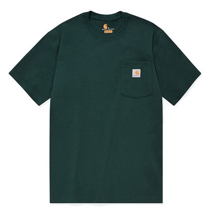 Carhartt More T-Shirts Unisex Street Style Cotton T-Shirts 18