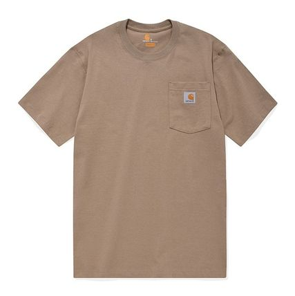 Carhartt More T-Shirts Unisex Street Style Cotton T-Shirts 19