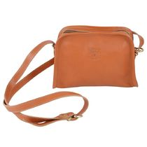 IL BISONTE Casual Style Plain Leather Elegant Style Bridal