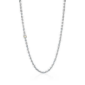 Unisex Chain Silver Necklaces & Chokers