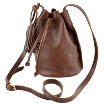 IL BISONTE Casual Style Plain Leather Purses Office Style Elegant Style