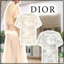 Christian Dior Linen Cotton Short Sleeves T-Shirts