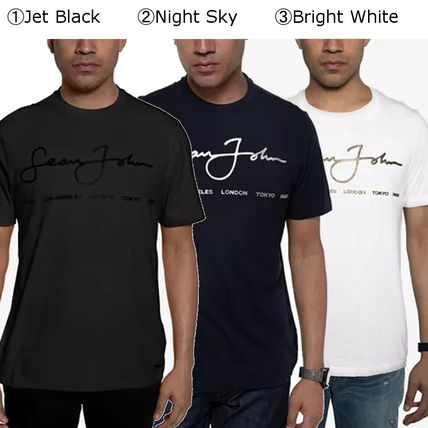 Pullovers Street Style Short Sleeves Logo T-Shirts