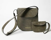 Kenneth Cole Street Style Leather Party Style Elegant Style Crossbody