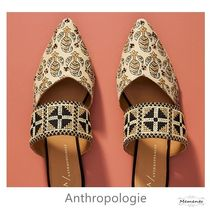 Anthropologie Flower Patterns Casual Style Unisex Blended Fabrics