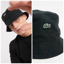 LACOSTE Street Style Wide-brimmed Hats