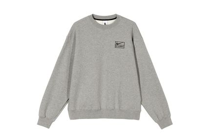 Crew Neck Pullovers Unisex Sweat Street Style Collaboration